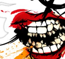 Sunset Overdrive Chemical Smile Sticker