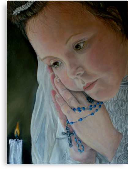 'Prayer' - Oil Painting by Avril Brand