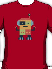 Happy Robot Pattern T-Shirt