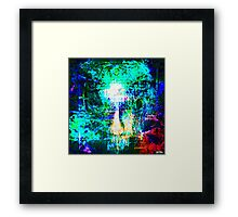 """"""" The voice  is a second face"""" Framed Print"""