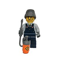 LEGO Welder with mask off! by jenni460