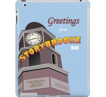 Once Upon a Time - Greetings from Storybrooke iPad Case/Skin