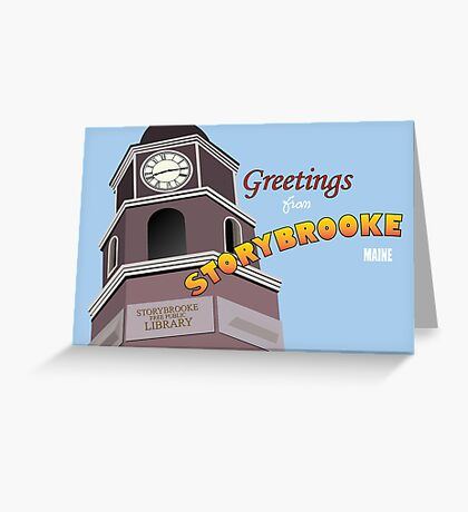Once Upon a Time - Greetings from Storybrooke Greeting Card