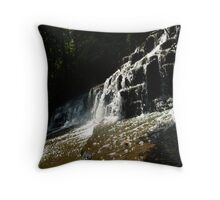 The Song of the River Throw Pillow