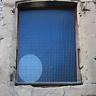 Blue ellipse by Pascale Baud