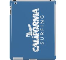 California Surfing Vintage White iPad Case/Skin