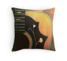 Old 12 String #1 Throw Pillow