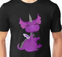 The Asexuality Blog - Unidragon Mascot Logo Unisex T-Shirt