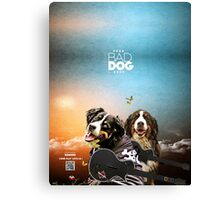 The Bad Dog Band Canvas Print