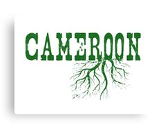 Cameroon Roots Canvas Print