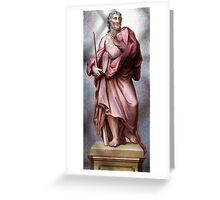 Religious figure Greeting Card