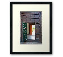 Double Judas Gates Framed Print
