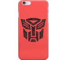 Transformers Autobots iPhone Case/Skin