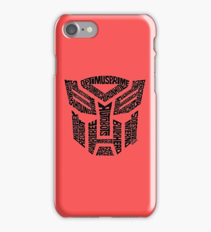 Transformers Autobots iPhone Case/Skin