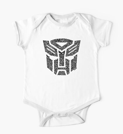 Transformers Autobots One Piece - Short Sleeve