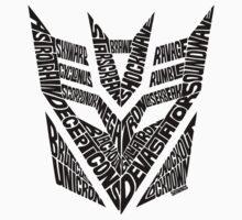 Transformers Decepticons One Piece - Short Sleeve
