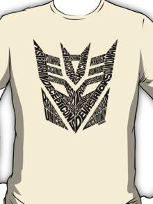 Transformers Decepticons T-Shirt