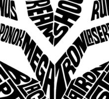 Transformers Decepticons Sticker