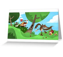 Woodsman Greeting Card