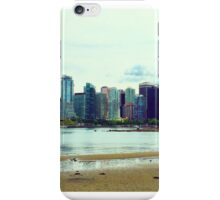 Downtown Vancouver Beautiful British Columbia iPhone Case/Skin