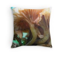 focus on stems Throw Pillow