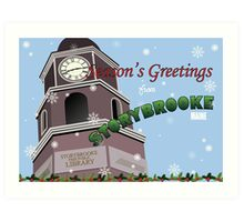 Once Upon a Time - Season's Greeting from Storybrooke Art Print
