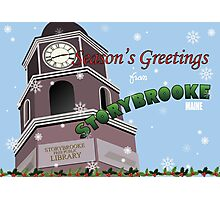 Once Upon a Time - Season's Greeting from Storybrooke Photographic Print