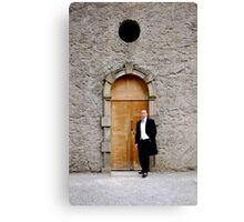 Solo Groom Canvas Print