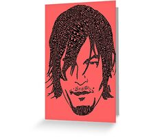 Daryl Dixon from The Walking Dead Greeting Card