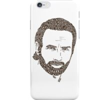 Rick Grimes from The Walking Dead iPhone Case/Skin
