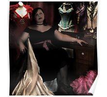 Burlesque Queen Poster