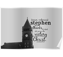Stephen victorious Poster
