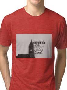 Stephen victorious Tri-blend T-Shirt