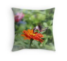 Sipping on the Run Throw Pillow
