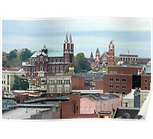 Macon Rooftops Poster