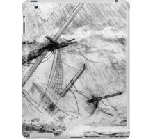 Last Moments of an Old Sailing Ship iPad Case/Skin