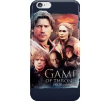 Game of thrones House Lannister iPhone Case/Skin