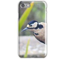 What's over there? - woodpecker image 6 iPhone Case/Skin