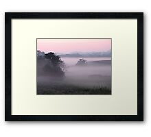 Draped In Mystery Framed Print