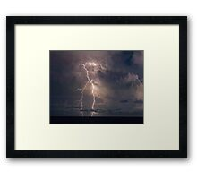 Twin forks Framed Print