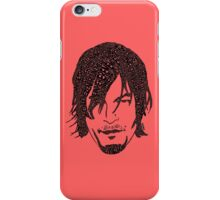 Daryl Dixon from The Walking Dead iPhone Case/Skin