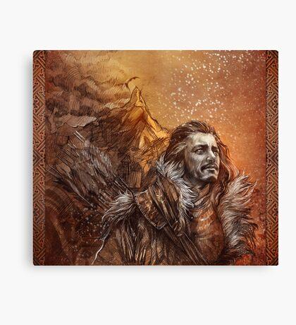 Bard the Bowman Canvas Print