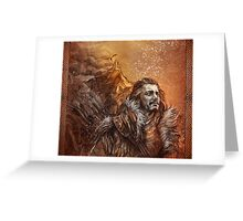 Bard the Bowman Greeting Card