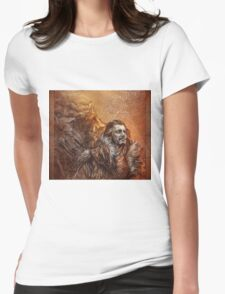 Bard the Bowman Womens Fitted T-Shirt