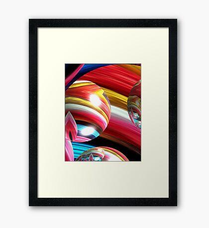 Yarn Art Framed Print