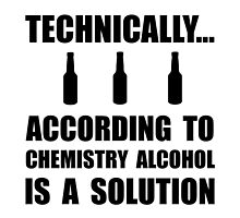 Chemistry Alcohol Solution by AmazingMart