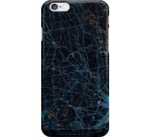 Maine USGS Historical Map Bangor 460141 1946 62500 Inversion iPhone Case/Skin