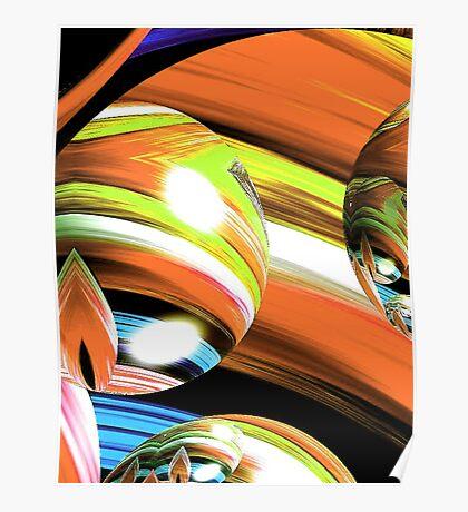 Yarn Art (Orange) Poster