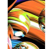 Yarn Art (Orange) Photographic Print