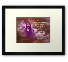 An Invitation Framed Print